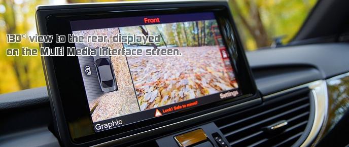 Audi rear view camera