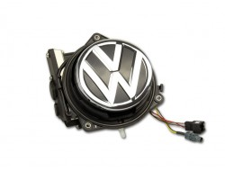 Genuine Volkswagen OEM Retrofit Kit - Rear View Camera Emblem - VW Polo 6C