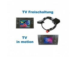 "TV in Motion - ""Plug & Play"" - VW MFD/Audi RNS-D (Navi+)"
