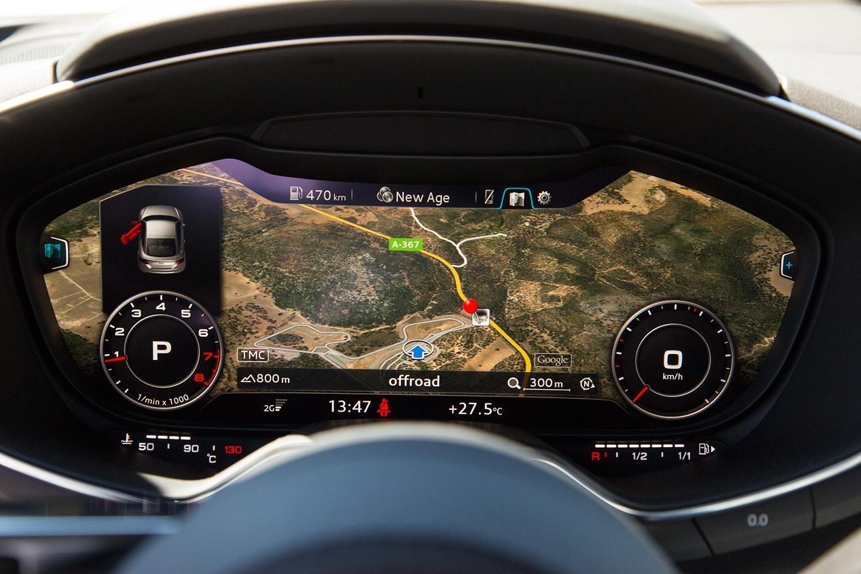 Retrofit kit MMI Navigation plus with MMI touch for Audi TT 8S | VAG