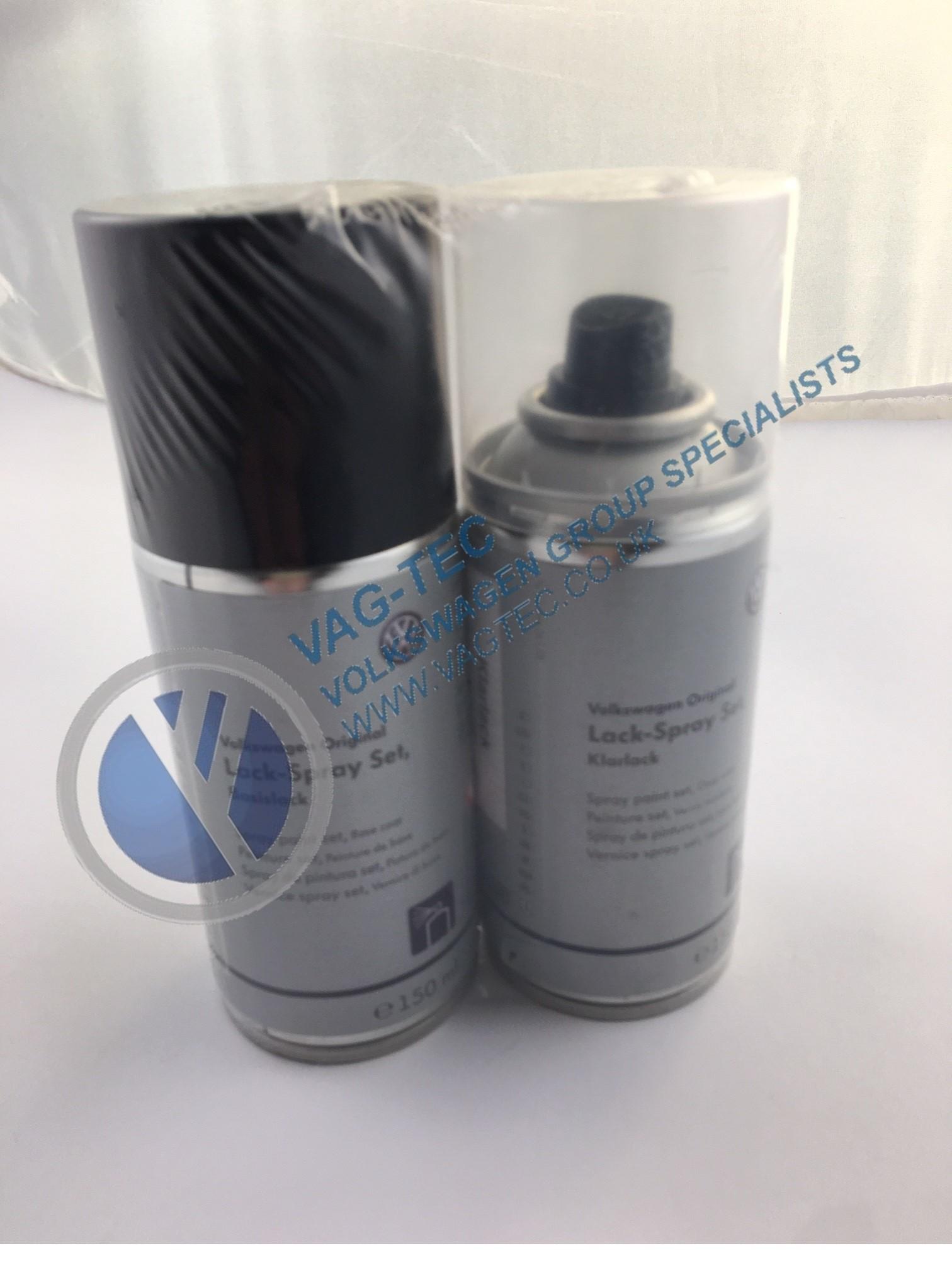 Genuine VW, Audi, Skoda, Seat Spray Paint - Set | VAG-TEC E-shop
