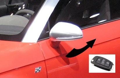 Genuine Audi OEM Retrofit Kit - Folding Door Mirrors - Q5 8R | VAG ...