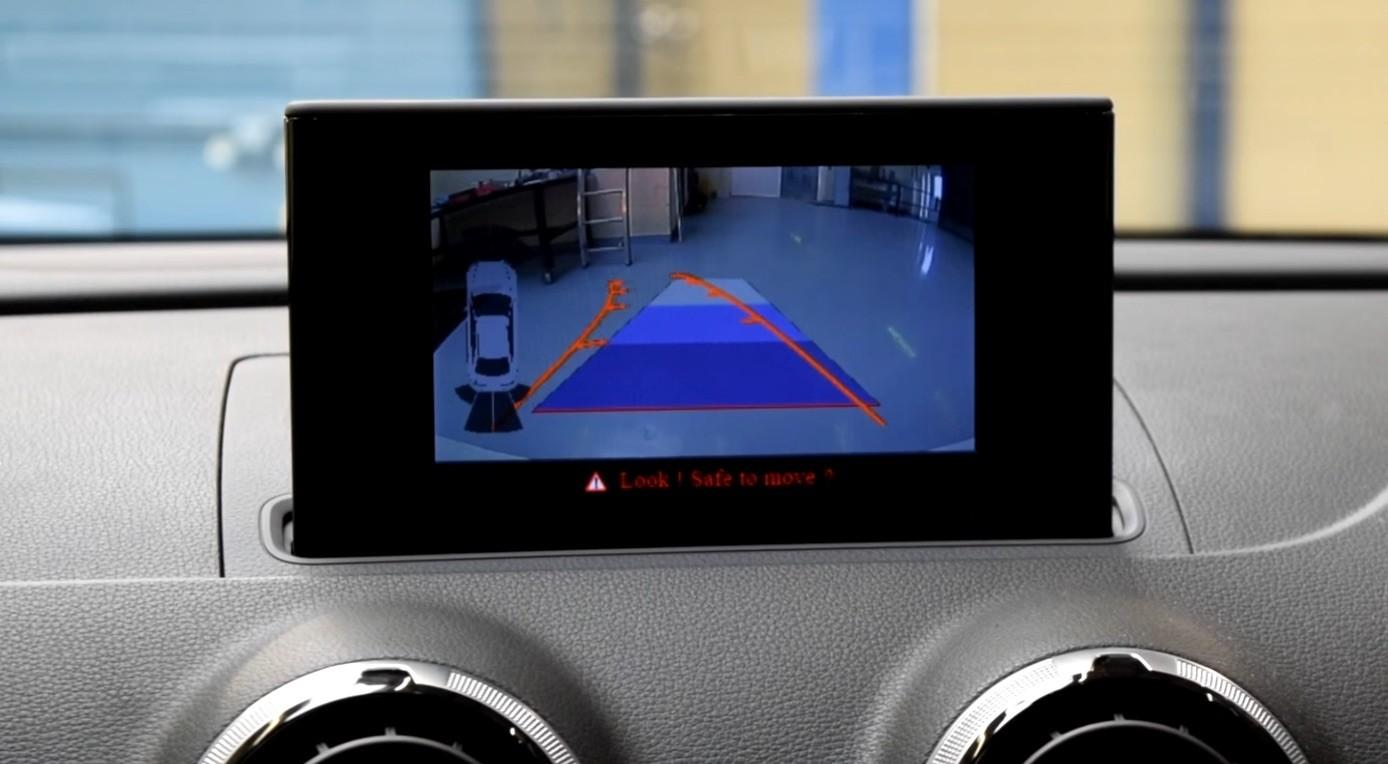 Genuine Audi OEM Retrofit Kit - Rear View Camera (High) - A3