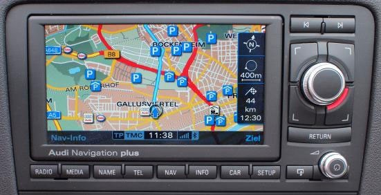 Genuine Audi OEM Retrofit Kit - RNS E Navigation - A3 / S3
