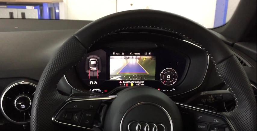 genuine audi oem retrofit kit rear view camera audi tt 8s vag rh vagtec co uk Audi A6 Audi TT Coupe