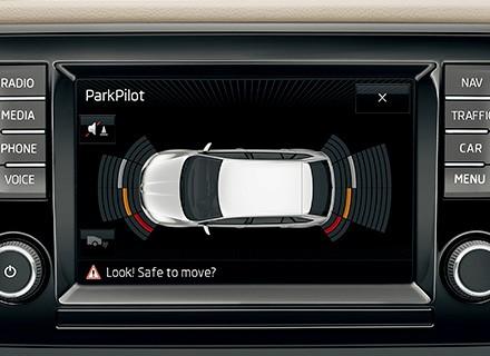 Genuine Skoda Oem Retrofit Kit Ops Parking Sensors