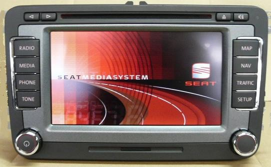Seat Mediasystem RNS-510 Touch Screen Navigation System | VAG-TEC E-shop