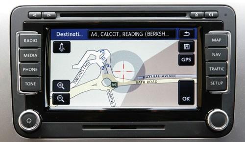 Genuine Volkswagen OEM Retrofit Kit - RNS 510 Navigation System
